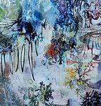 Carsten Dahl , maleri, White flake