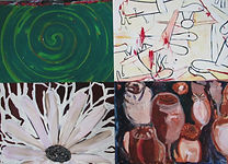 Carsten Dahl, maleri, Droner