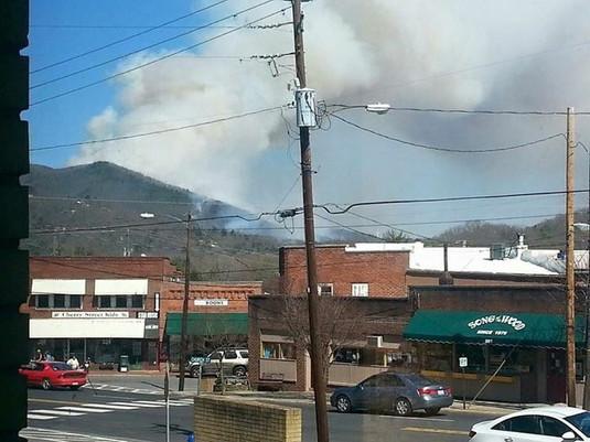 Ridgecrest - Weed Lane Fire