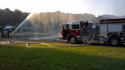 Engine 42 at Lake Tomohawk