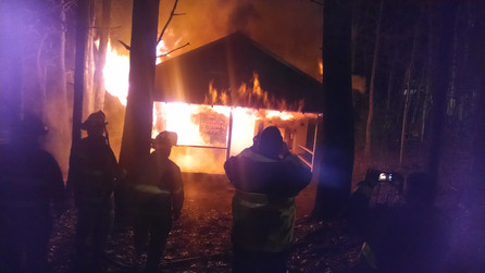 Training Burn in Ridgecrest