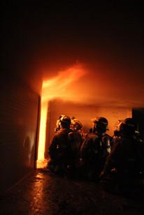 Structure Fire Training Burn