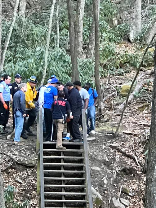 Injured Hiker Rescue
