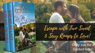 **New Release -- KISS ME IN WESCOTT SPRINGS -- Yay!!**