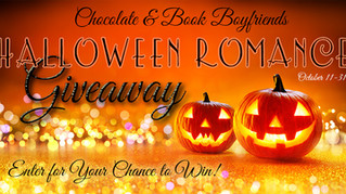CHOCOLATE & BOOK  BOYFRIENDS HALLOWEEN GIVEAWAY