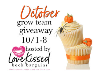 October Grow Team Giveaway!