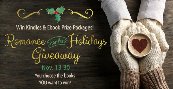 Win Kindles and ebook prize packages