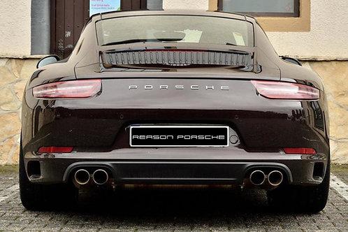 Porsche Letters Badge Chrome