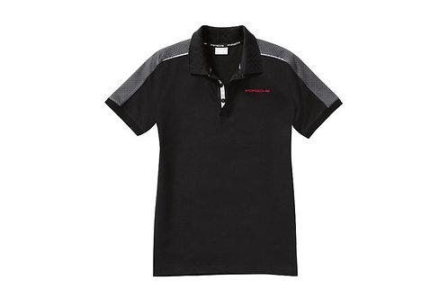 PORSCHE DESIGN NEW Men's Polo Shirt- Racing Collection Genuine New Size L Black