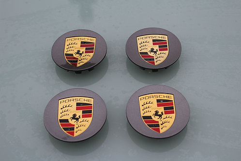 76mm Grey Colour Crested  Set of 4