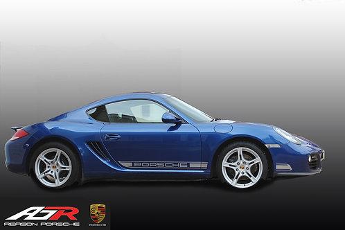 Porsche Side Decals