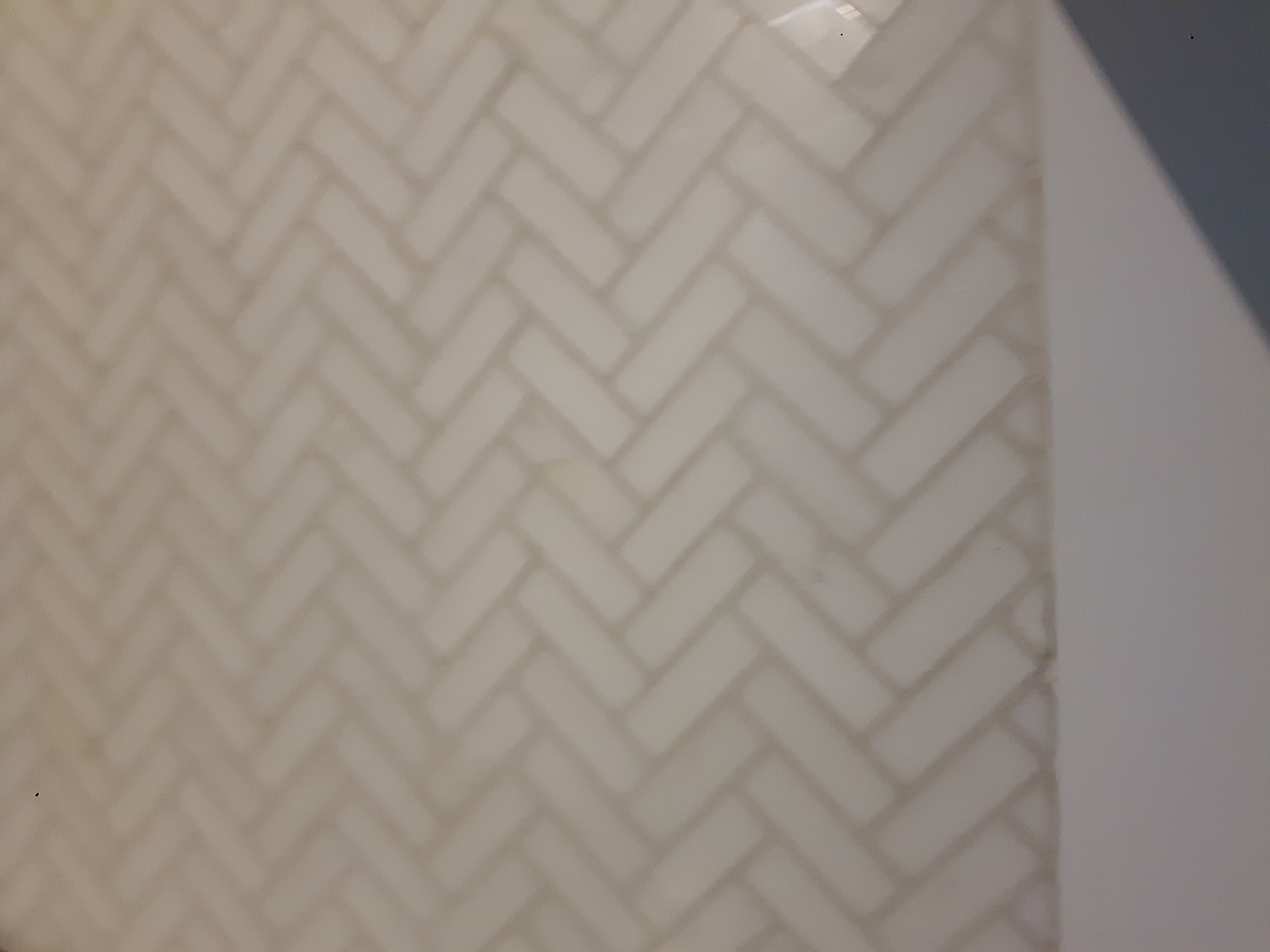 marble tile herringbone