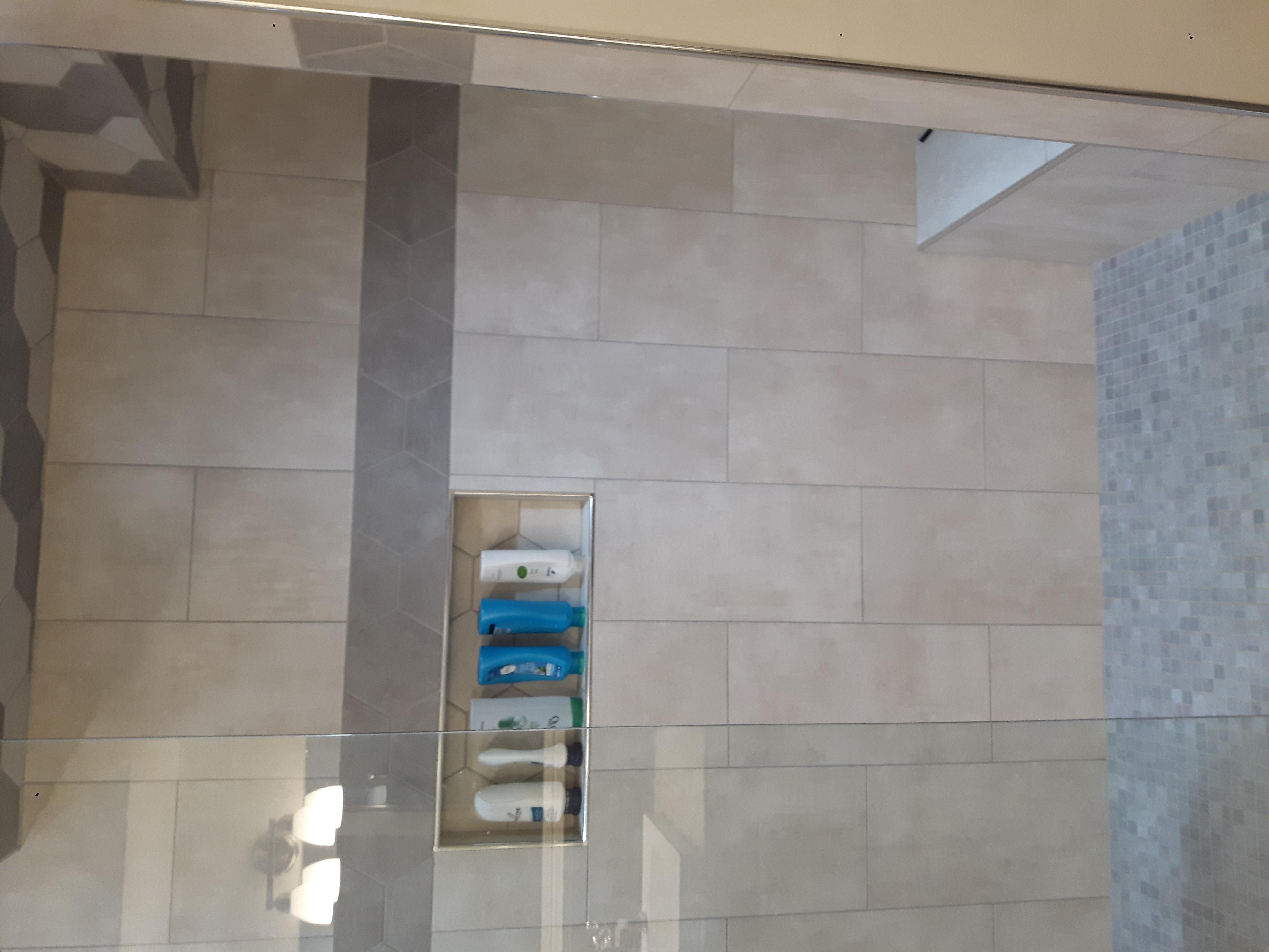 porcelain shower cubby shower niche