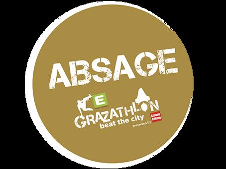 ABSAGE E-Grazathlon 2020