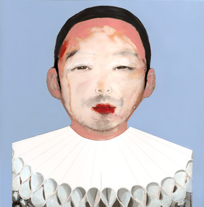 Shusuke as Pierrot