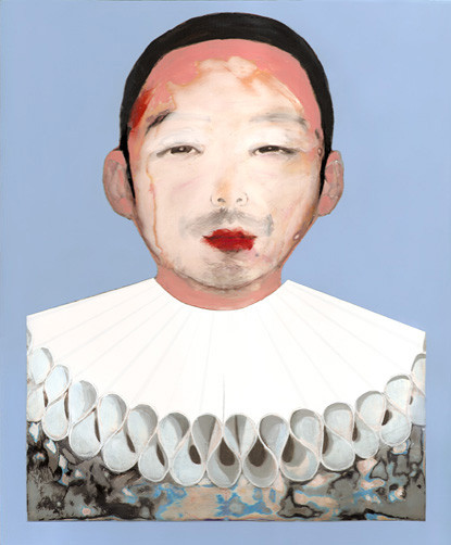 Shusuke as Pierrot