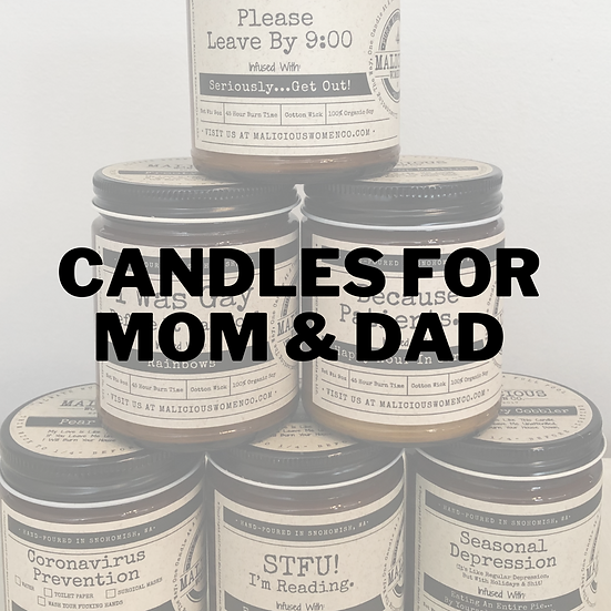 Candles for Mom & Dad