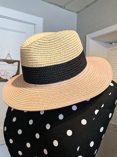 Brimmed Sun Hat