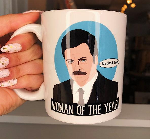 Ron Swanson Ceramic Mug