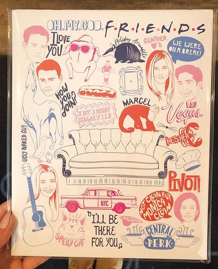 """Friends"" Print"