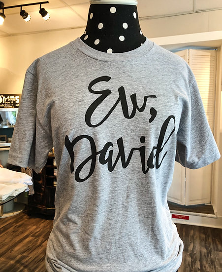 Ew, David T-shirt