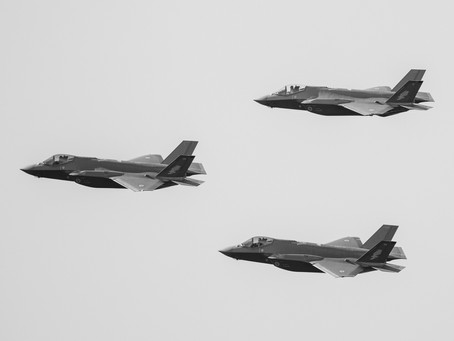 Air Force 100th Anniversary Flyover in Canberra