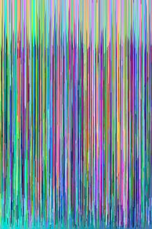 hex editing glitch art color