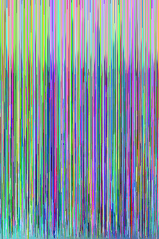 hex editing glitch art colour
