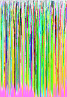 hex editing photography glitch art