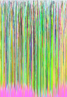 hex editing photography glitch art
