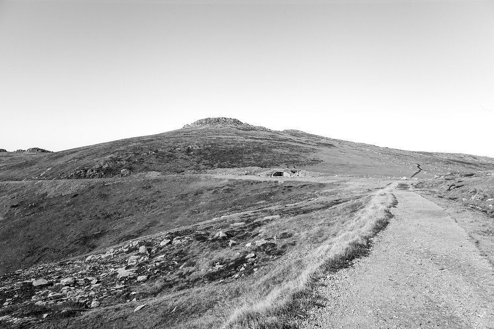 Black and white Mt Kosciuszko landscapes photographed by Megan Kennedy