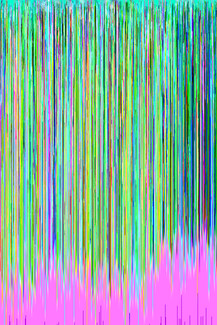 using a hex editor on a photograph to create glitch art