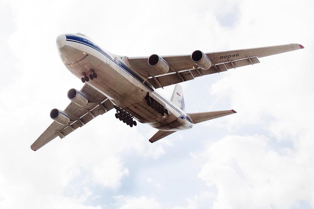 antonov AN-124 aircraft aviation photography airplane flight