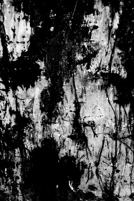 pareidolia photography black and white lines paint decay