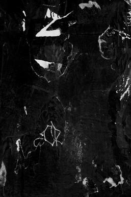 black and white monotone urban landscape photograph