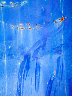 blue urban abstract photography