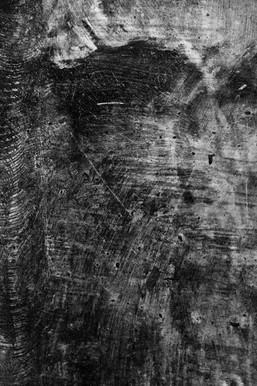 layers of concrete in a  black and white urban abstract photograph
