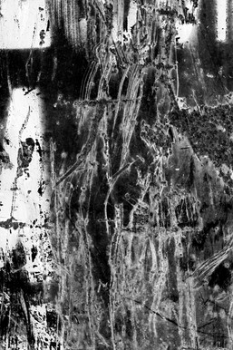 urban abstract black and white texture text