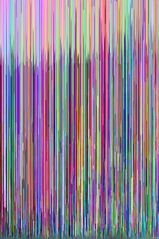 glitch art hex editor photography