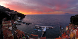 Sunset from Sant'Anna Institute