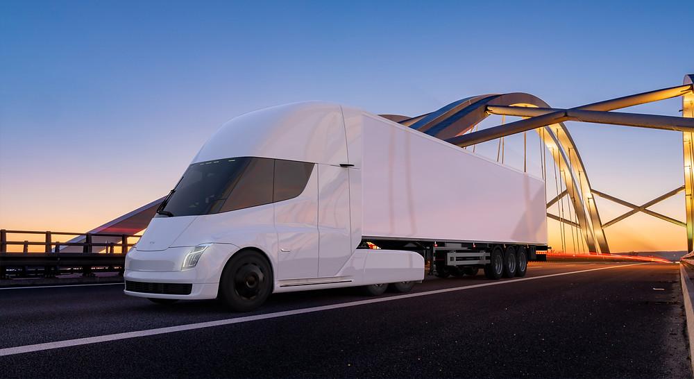 Tesla Semi Electric Truck, Electra Vehicles
