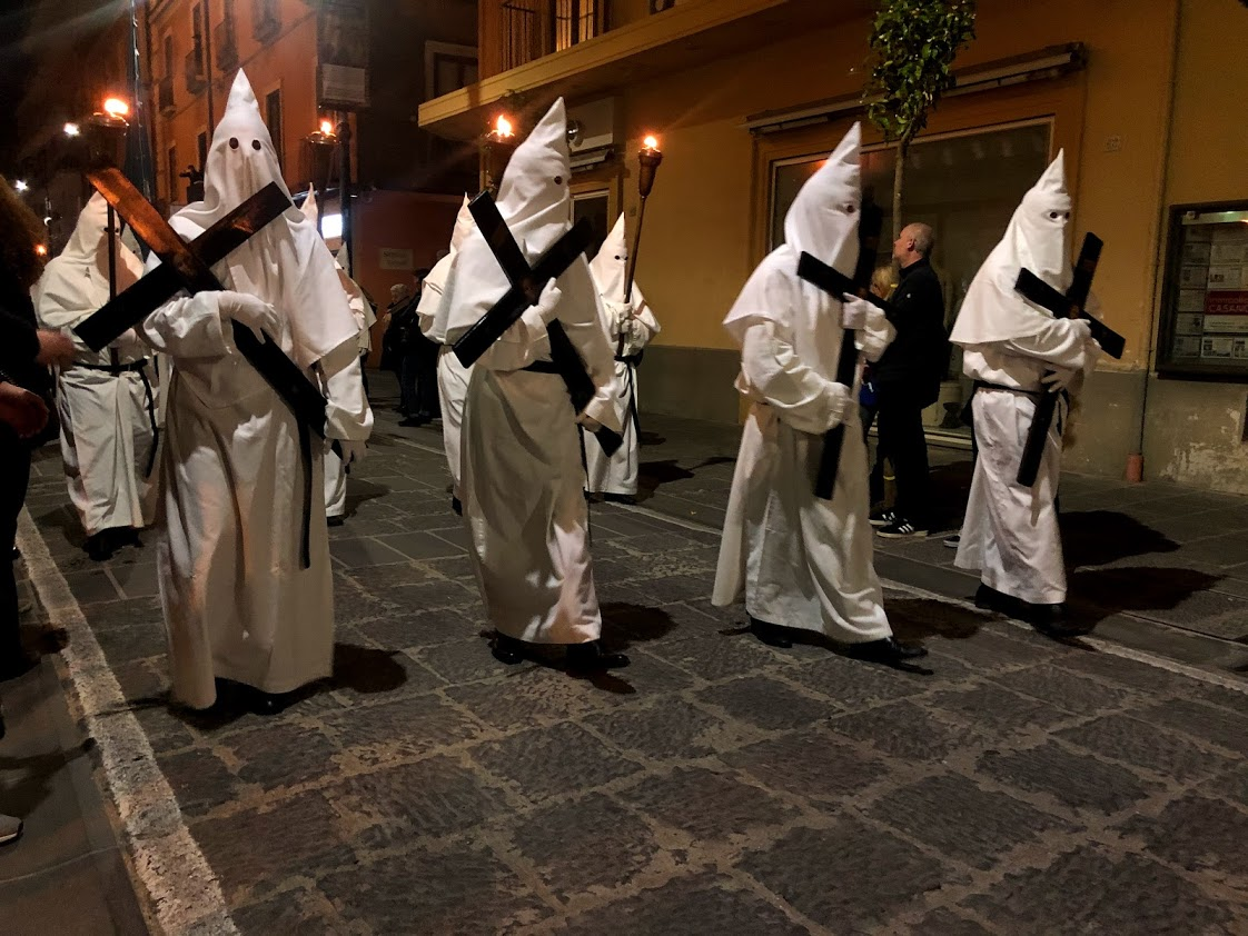 The famous Easter processions of the Sorrentine Peninsula