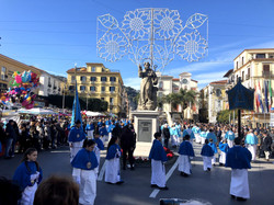 The famous Sant Antonino parade celebrating Sorrento's patron saint