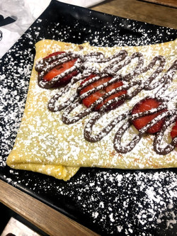 Oh my crepe, ordered at We Heart Puro in Sorrento