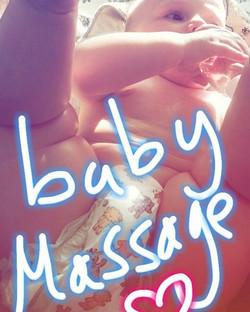 We love baby massage _Www.littlelotusbaby.co