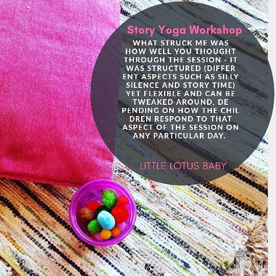 This is what Yoga and Parenting is ALL a