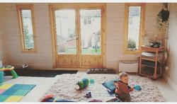 Inside the little lotus baby studio