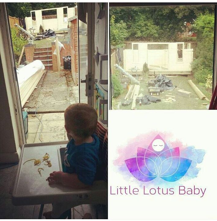The LIttle Lotus Baby Studio being b