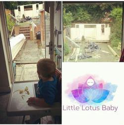 The LIttle Lotus Baby Studio being b