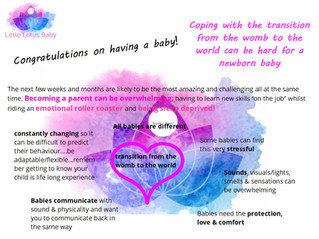 Creating Your Baby Massage Space
